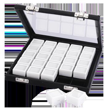 Gemstone Leather Case