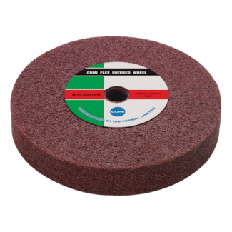 Cumi Flex Unitised Wheel, Nylon Fibre 150x25-5 SUF