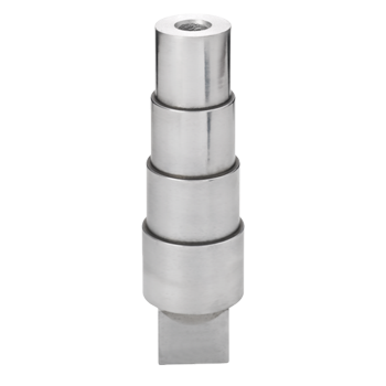 Stepped Mandrel Round With Tang Metal