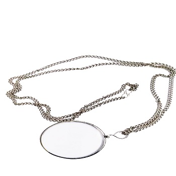 Locket Magnifier 5x (50mm) - Nickel