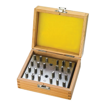 Multi-shapes Disc Cutters Set of 24 in a Wood Box