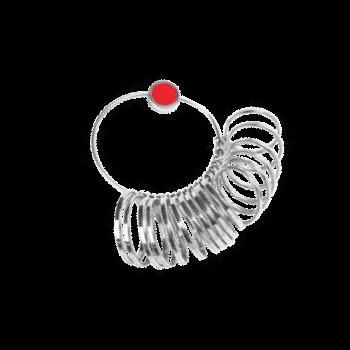 Ring Gauge Jumbo US Sizes 16-24 (Set of 17)