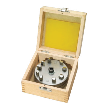 Disc Cutter Set of 9 in a Wood Box