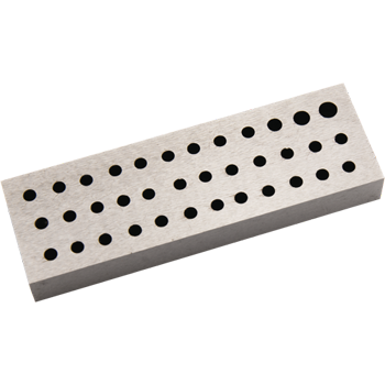 Rivetting Flat Stake Large With 36 Holes